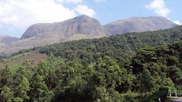 Anamalai hills in the Western Ghats. | Commons