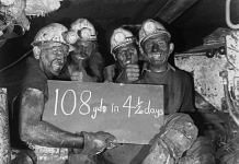 Miners working at Bersham Colliery near Wrexham in Wales, 1960 | The National Archives UK | Flickr