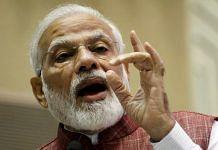 Prime Minister Narendra Modi | Photo: Praveen Jain | ThePrint