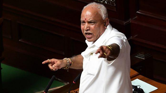 File image of Karnataka CM B.S. Yediyurappa | Photo: PTI