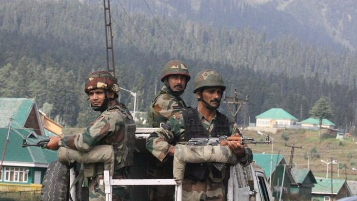 Indian Army personnel in Srinagar (file) | Photo: Praveen Jain | ThePrint