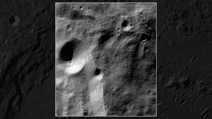 Lunar surface. | Photo: ISRO/Twitter