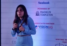 Human rights activist & founder of 'Love matters' website Vithinka Yadav at Democracy Wall event in Sonipat | ThePrint