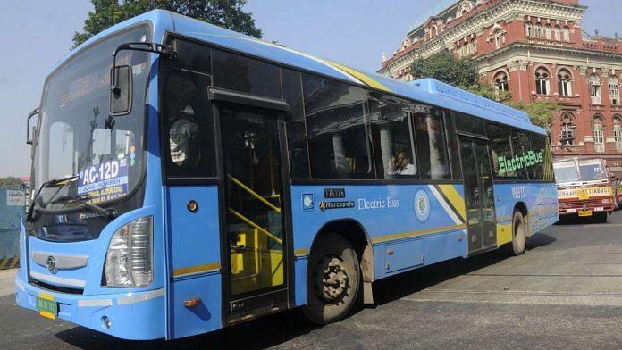 Electrical buses - Kolkata