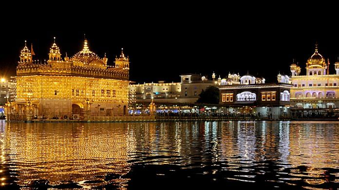 File photo of the Golden Temple in Amritsar