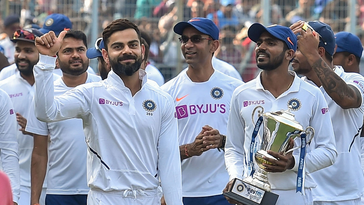 India Beat Bangladesh By Innings 46 Runs In Pink Ball Test Record 7th Successive Win