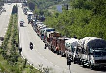 JK highway closed for second consecutive day