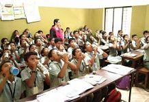 Students at Kerala's St Joseph's Upper Primary School | By special arrangement