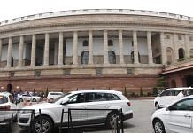 The Parliament building in New Delhi | Praveen Jain | ThePrint