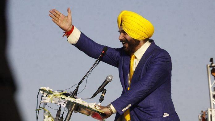 Navjot Singh Sidhu speaks at the Kartarpur Corridor opening in Pakistan