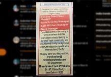 The newspaper advertisement by Brandavan Food Product Company | ThePrint