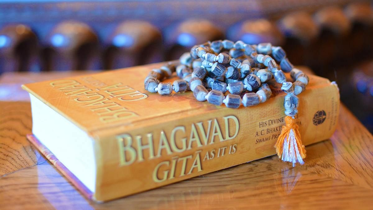 Bhagavad Gita wasn't always India's defining book. Another text was far  more popular globally