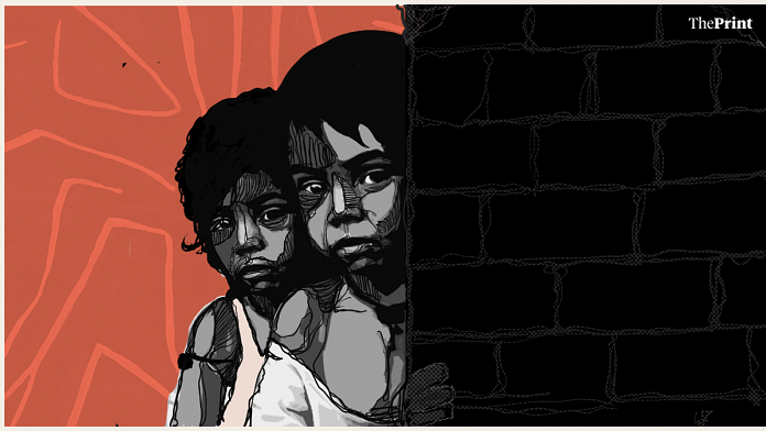 There has been a 55 per cent increase in the number of child trafficking cases in Assam in 2019 | Illustration by Soham Sen