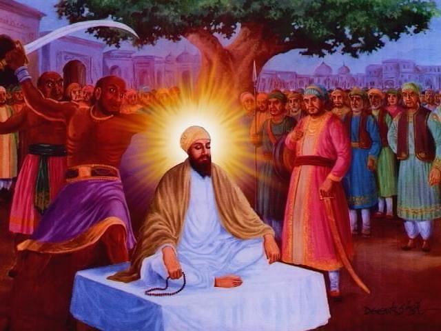 Guru Tegh Bahadur — the ninth Sikh guru who sacrificed himself for  religious freedom