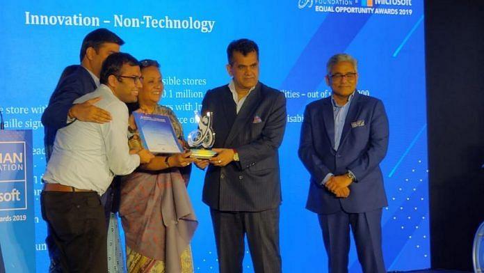 Niti Aayog CEO Amitabh Kant at the Equal Opportunity Awards.   Photo: Manisha Mondal/ThePrint