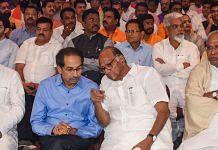 Shiv Sena leader Uddhav Thackeray and NCP chief Sharad Pawar | PTI file photo