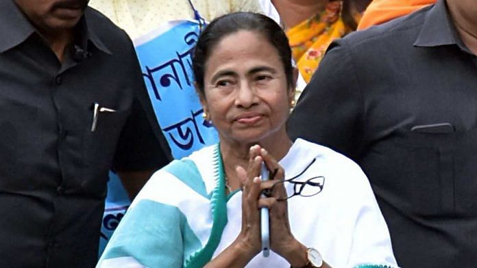 West Bengal Chief Minister Mamata Banerjee during a protest rally against NRC and the central government in Kolkata. | ANI