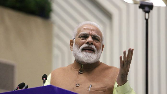 File photo of Prime Minister Narendra Modi   Photo: Praveen Jain   ThePrint