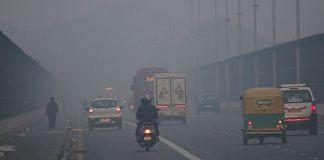 Toxi smog engulfed Delhi Thursday | Photo: Suraj Singh Bisht | ThePrint