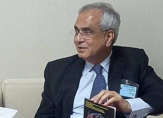 Rajiv Kumar, Vice Chairman of the NITI Aayog | Twitter/@RajivKumar1