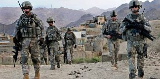 A file photo of US soldiers in Afghanistan | Commons