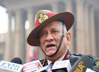 CDS General Bipin Rawat