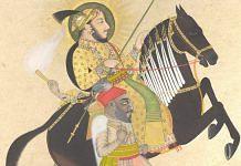 Maharana Sangram Singh Riding a Prize Stallion | 1712 | The Met Museum
