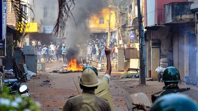 Anti-CAA protests turned violent in Mangaluru, and two people died in police firing Thursday