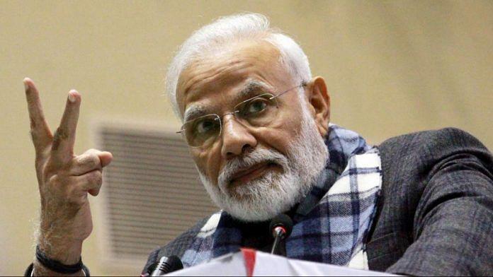 File photo | PM Narendra Modi | Praveen Jain | ThePrint