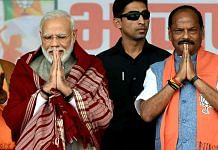 Leaders blame the BJP's Jharkhand defeat on CM Raghubar Das (right), not PM Narendra Modi | Photo: ANI