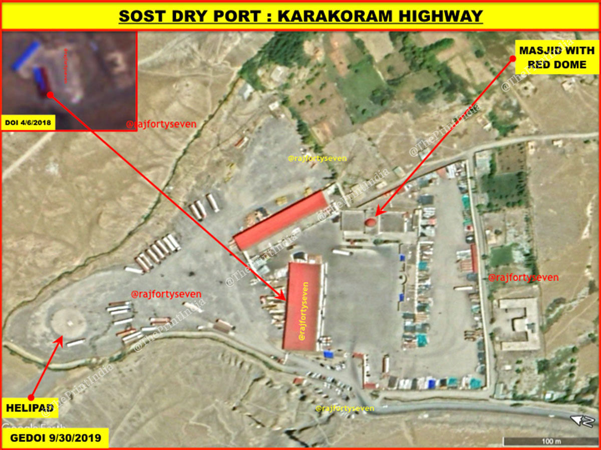 Sost Dry Port on the CPEC in PoK