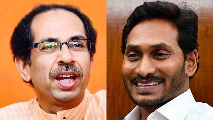 Maharashtra CM Uddhav Thackeray (left)and Andhra Pradesh CM Jagan Mohan Reddy are the latest to reject NRC | Photos: Wikipedia