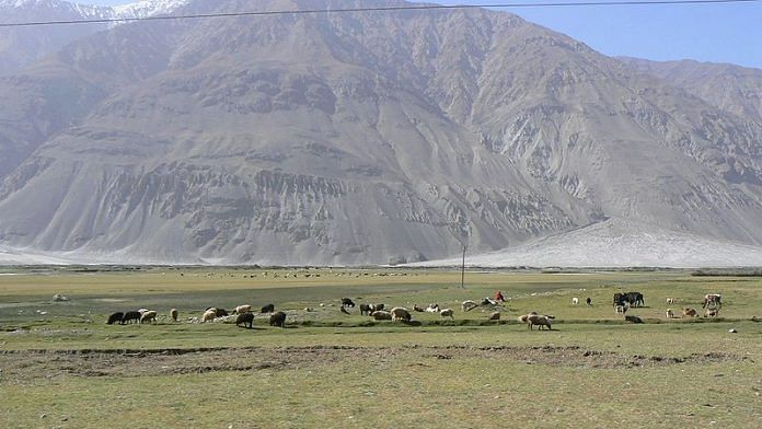 Wakhan Corridor separates Afghanistan from Gilgit Baltistan in Pakistan-occupied Kashmir (PoK)