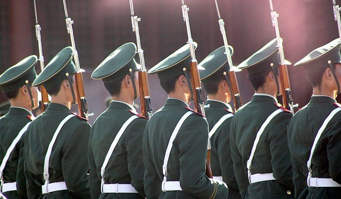 Representational image of China's People's Liberation Army | Photo: Flickr