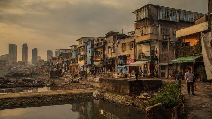 china city inequality