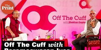 Shekhar Gupta in conversation with Parameshwaran Iyer, Secretary, Ministry of Drinking Water and Sanitation at Off The Cuff event in Bangalore