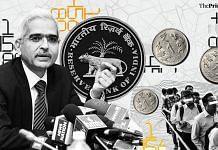 RBI Governor Shaktikanta Das | ThePrint illustration by Soham Sen