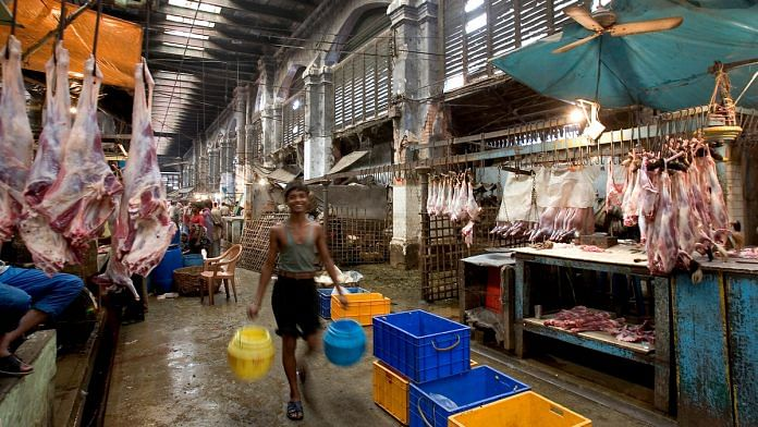 Representational image.Slaughterhouse at Hogg market, Kolkata. | Commons