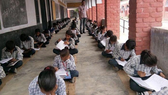 A school under the Saksham Haryana programme | Source: Samagra