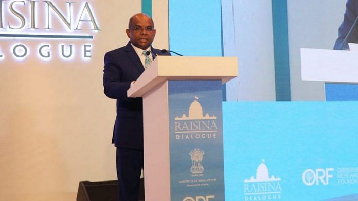 Maldives foreign minister Abdulla Shahid | File photo | @abdulla_shahid | Twitter