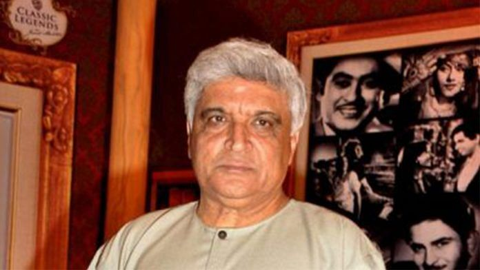 File photo of Javed Akhtar | Facebook