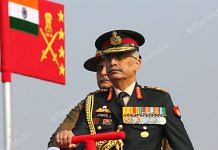 Army chief Gen M.M. Naravane at the Army Day Parade | Suraj Singh Bisht | ThePrint