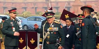 Newly-appointed CDS General Bipin Rawat
