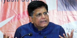 File image of Commerce and Industry Minister Piyush Goyal | Photo: ANI