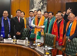 File photo of the signing of the Bodo Peace Accord in January | Twitter