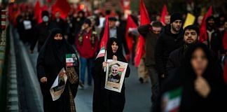File photo | Crowds in Tehran mourning Major Gen. Qasem Soleimani and others killed in a US drone strike at Baghdad airport | Bloomberg