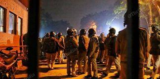 Delhi Police at JNU