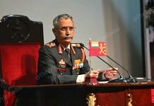Army Chief Gen Manoj Mukund Naravane addressing the annual press conference in New Delhi