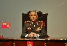 Army chief MM Naravne addressing the annual press conference in New Delhi | Suraj Singh Bisht | ThePrint