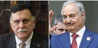 Sarraj and Haftar